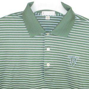 Peter Millar Men's Polo Golf Shirt 100% Cotton L